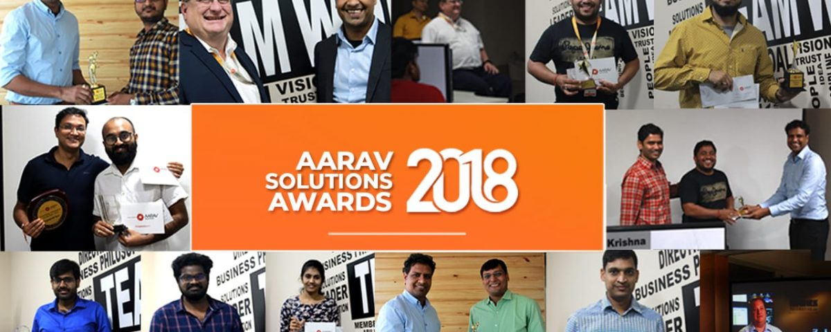 Aarav Solutions Awards 2018