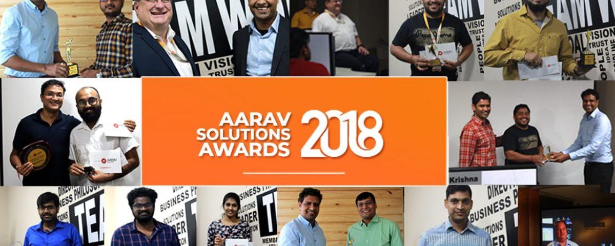 Aarav Solutions Awards 2018