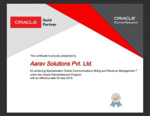 Oracle BRM specialized partner