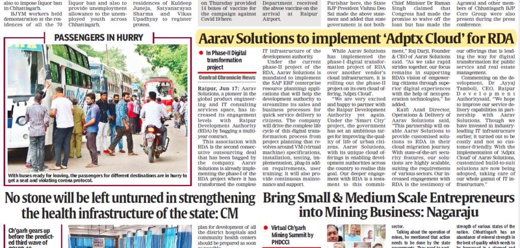 Aarav Solutions RDA - Chronicals Central